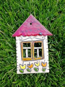 Dekorácie - Závesný domček na stenu č.11 - 10923691_