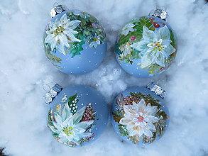 Iné doplnky - Vianočné gule ručne maľované - 10923447_