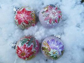 Iné doplnky - Vianočné gule ručne maľované - 10923495_