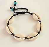 Šperky - pánsky náramok z mušlí - 10923665_