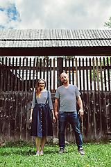 Tričká - Pán & Pani bambusové tričko - 10924078_
