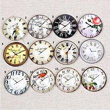 Komponenty - KA131 Kabošon hodiny 12 mm - 10923210_