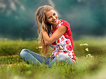 Tričko Poppy Halves