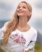 Tričká - Tričko Floral - 10923178_