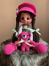 Hračky - bábika Paulínka - 10924650_