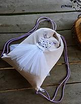 Detské tašky - Detský vak / batoh / ruksak - BALETKA - 10923129_