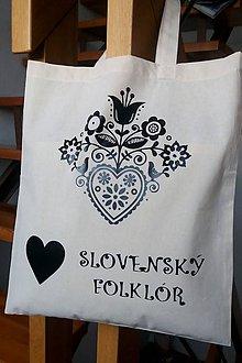 Veľké tašky - Taška - Milujem folklór - 10923921_