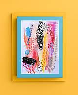 Kresby - -Abstrakt/kombinovaná technika- - 10924657_