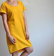 Šaty - Šaty Gréta žlté - 10922975_