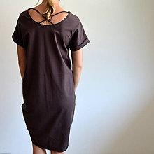 Šaty - Šaty Gréta hnedé - 10923078_
