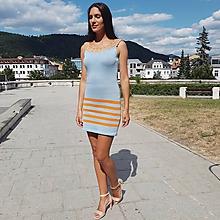 Šaty - Vźpredaj -úpletové šaty - Letný deň - 10923944_