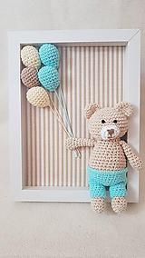Detské doplnky - S mentolkovými balónmi - 10923917_