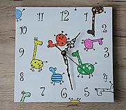 Hodiny - Crazy Giraffes - 10925565_
