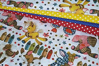 Textil - Látka Šité zvieratká - 10926074_