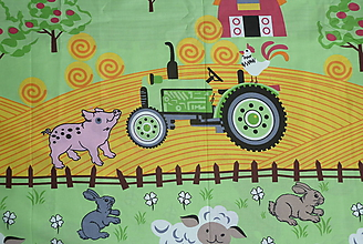 Textil - Látka Veľká farma - 10926109_