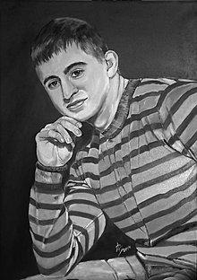 Obrazy - Portrét chlapca - 10926077_