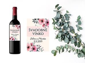 Papiernictvo - Etikety na víno - 10925452_