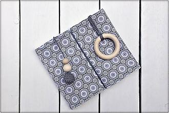 Detské doplnky - Slintáčiky mandaly - návleky na ergonomický nosič - 10925186_
