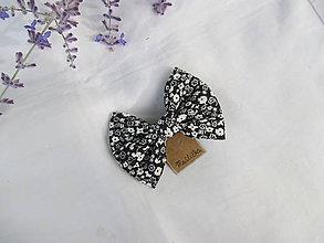 Ozdoby do vlasov - Mašlička/motýlik (s pinetkou) - 10926589_