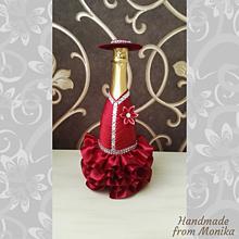 Nádoby - Gratulačná fľaša k narodeninám - 10926679_