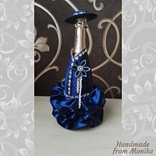 Nádoby - Gratulačná fľaša k narodeninám - 10926683_