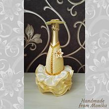 Nádoby - Gratulačná fľaša - 10926689_