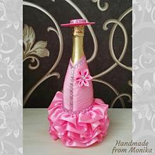 Nádoby - Gratulačná fľaša k meninám - 10926695_