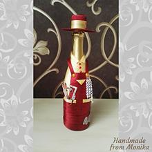 Nádoby - Gratulačná fľaša stolár - 10926707_