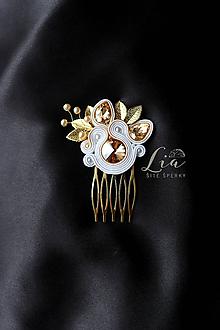 Iné šperky - Hrebienok do vlasov - 10926062_