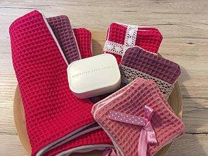 Úžitkový textil - Uteráčik rozmaz(n)ávací  (Fuchsia) - 10926057_
