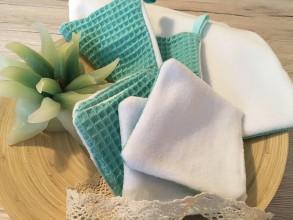 Úžitkový textil - Uteráčik rozmaz(n)ávací  (Svetlá morská zelená) - 10926060_