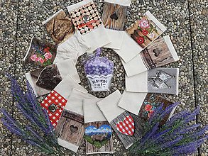 Úžitkový textil - Vrecúška na bylinky alebo levanduľu. - 10925577_