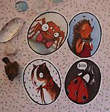Papiernictvo - Zvieratká, ktorých sa bojím - 10927991_