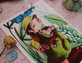 Grafika - Malá Jane - 10927919_