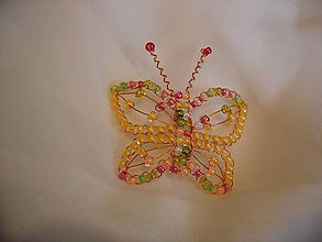 Odznaky/Brošne - Motýlik - 10927571_