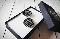 Šperky - Manžetové gombíky - 10927102_