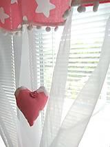 Úžitkový textil - Záclonka  hviezdy - 10928459_