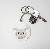 Kľúčenky - Prívesok ovečka - 10929031_