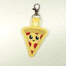 Kľúčenky - Prívesok pizza - 10928611_
