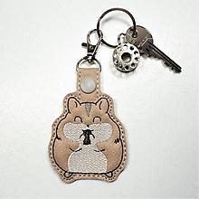 Kľúčenky - Prívesok škrečok - 10928683_