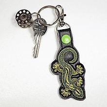 Kľúčenky - Prívesok gekon - 10928795_