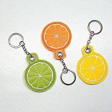 Kľúčenky - Prívesok citrus - 10928886_