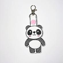 Kľúčenky - Prívesok panda - 10929027_