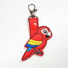 Kľúčenky - Prívesok papagáj - 10929060_