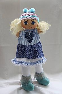 Hračky - Maňuška. Dievčatko Eliška v čižmičkách - 10927333_