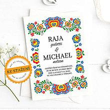 Papiernictvo - Svatební oznámení - Raja - 10928770_