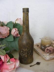 Nádoby - Vintage fľaša ... - 10927016_