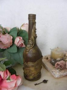 Nádoby - Vintage fľaša ... - 10927028_