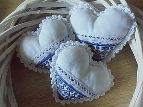 Darčeky pre svadobčanov - Svadobné srdiečko folk - 10926964_