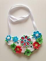 Náhrdelníky - Náhrdelník vo sviežich farbách - 10931172_
